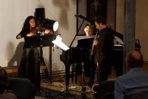 Das Trio Saviano im Konzert