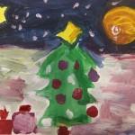 Weihnachtsbaum – Ein Bild aus unserem Friesennest