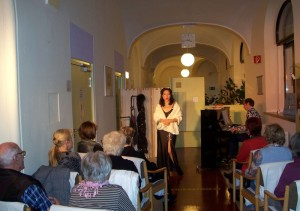 Benefizveranstaltung mit Katrin Troendle