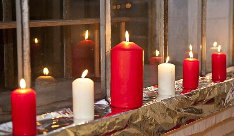 einladung wir feiern weihnachten am mit einem. Black Bedroom Furniture Sets. Home Design Ideas