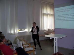 Dr. med. Wuttke: Vortrag gezielte Krebstherapie