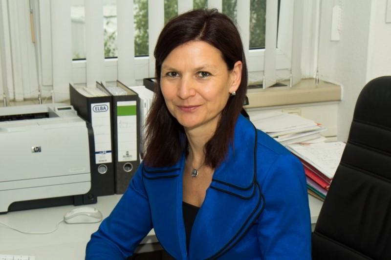 Katrin Grosse leitet das Leipziger REHAU-Verkaufsbüro