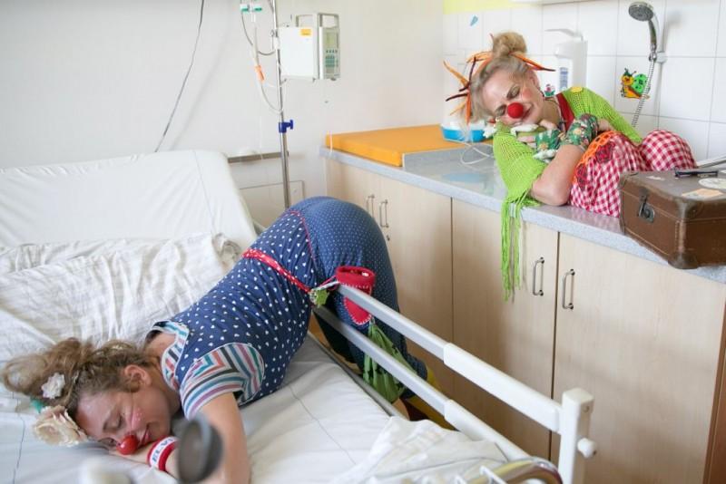 Lachen ist die kürzeste Verbindung zwischen den Menschen – Einblicke in die Arbeit eines Klinik-Clowns, Haus Leben Leipzig