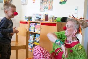 Vortrag: Lachen ist die beste Medizin. Klinik-Clowns berichten aus ihrem Alltag