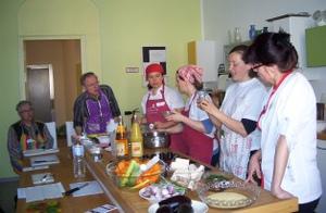 Kochseminar für Krebspatienten