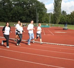 Laufend gegen Krebs 2012