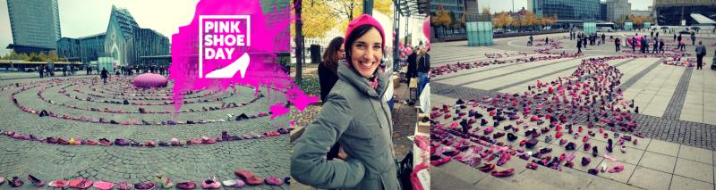 Ein kleiner Eindruck vom Pink Shoe Day 2013