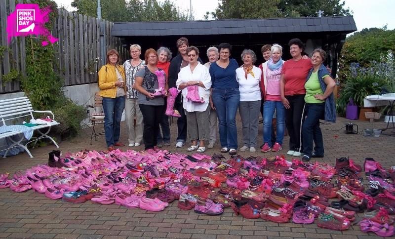 Einige Damen der Frauenselbsthilfe nach Krebs, Bad Belzig
