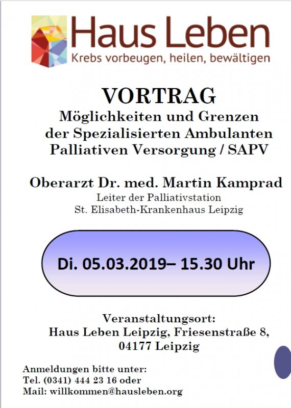 Vortrag Oberarzt Dr. med Martin Kamprad