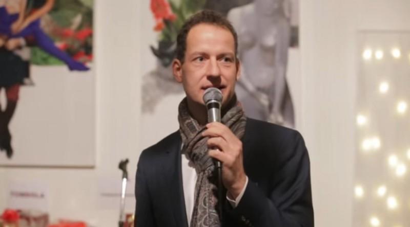Daniel Mantey moderierte bereits Buon Natale 2014