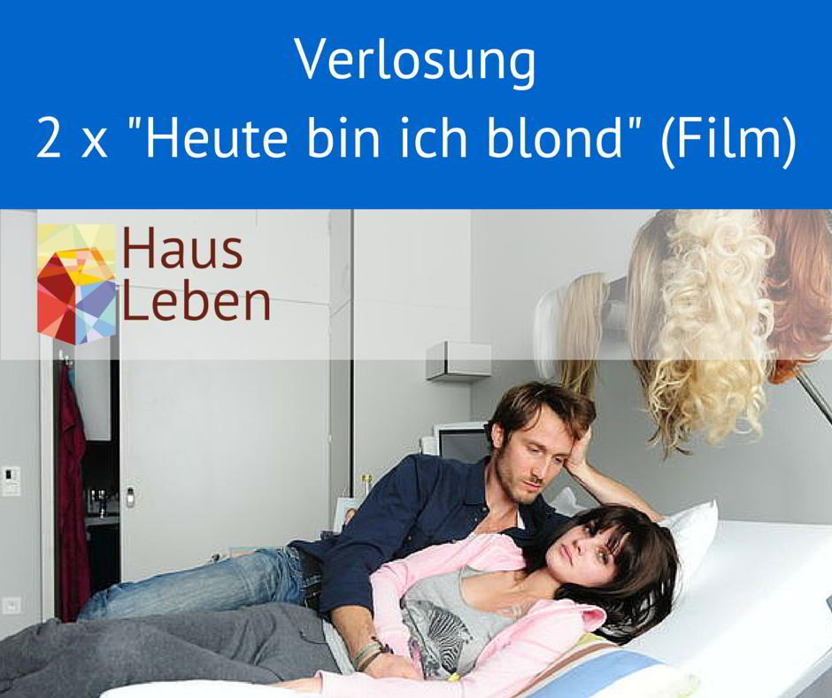 """Wir verlosen 2 x den Film """"Heute bin ich blond"""". Vielen Dank an die Universum Film GmbH (www.universumfilm.de) für die kostenlose Bereitstellung!"""